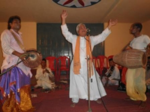 Fr Pankaj Pathi at Nagarukhra